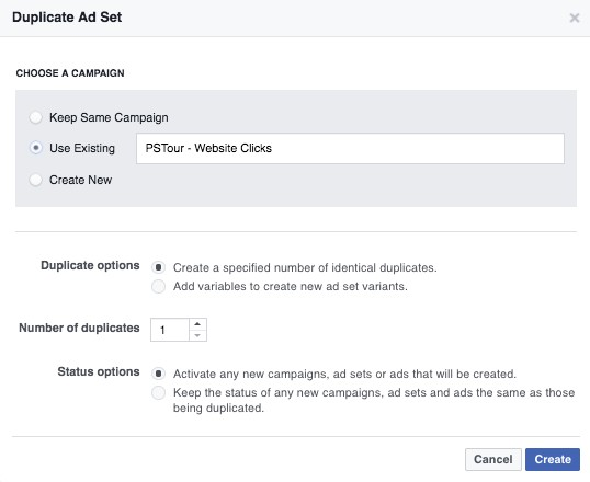 Boosterberg Boost FB Post Automatically - Dashboard View in Ads Manager