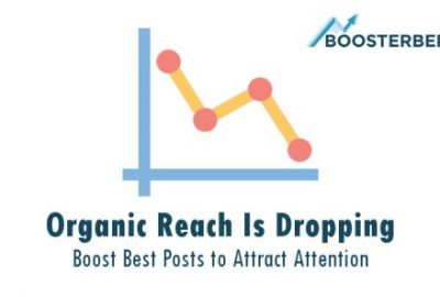 Boosterberg - Automated FB Post Boosting - Facebook Organic Reach Is Dropping - Increase Visibility with FB Ads