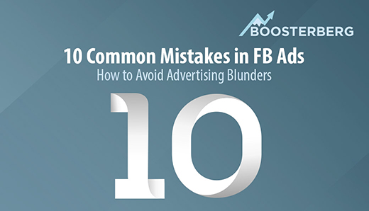 10 Common Mistakes with Facebook Ads