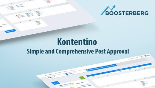 Boosterberg Facebook Ads Academy - Kontentino Social Media Content Management Tool