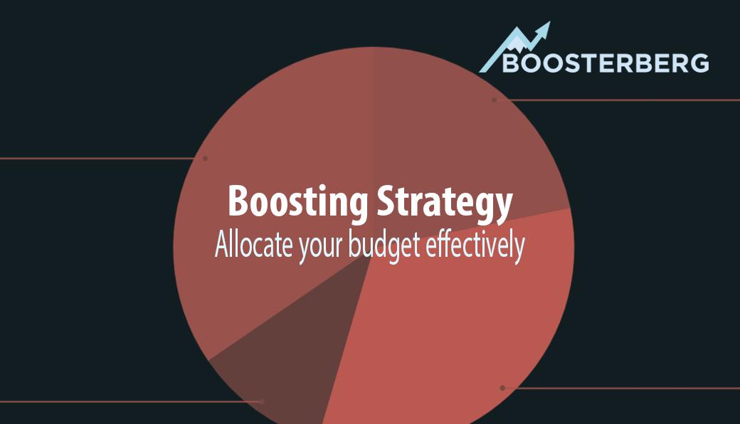 Boosterberg strategies: Effective budget allocation