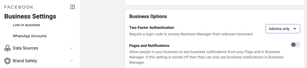 To prevent hacks, turn on 2-factor authentication