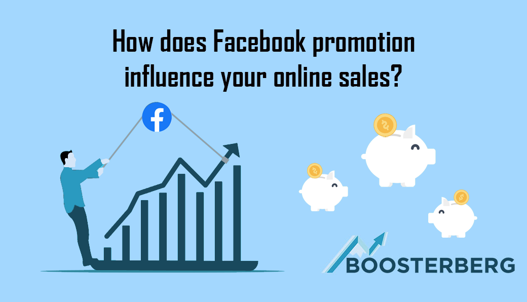 How does Facebook promotion influence your online sales?